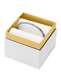 Michael Kors - Metallic Hinge Bangle In Gift Box - Lyst