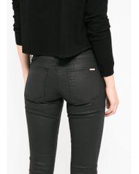 Mango - Black Skinny Belle Jeans - Lyst