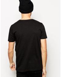 ASOS - Black T-Shirt With World Cities Print for Men - Lyst