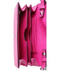 MICHAEL Michael Kors - Pink Jet Set Cross Body Bag - Raspberry - Lyst