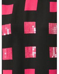KENZO Black 'Squares' Dress