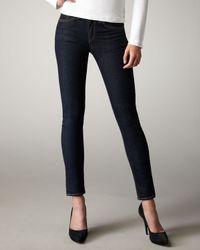 Rag & Bone Black The High-Rise Skinny Heritage Jeans