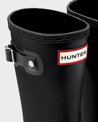 Hunter | Black Original Kids Rain Boots | Lyst