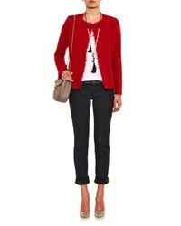 Isabel Marant Satchell Belted Textured Jacket