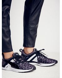 Free People - Black Pulse Graphic Trainer - Lyst