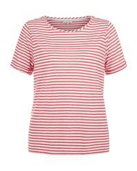 Hobbs | Pink Orla T Shirt | Lyst