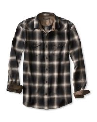 Banana Republic | Black Slim-fit Herringbone Shirt for Men | Lyst