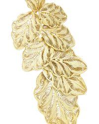 Finds | Metallic + Joyas Fio Gold-Plated Filigree Earrings | Lyst