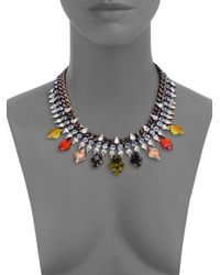 DANNIJO - Multicolor Cayden Crystal Necklace - Lyst