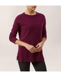 Hobbs | Purple Cashmere Natalie Sweater | Lyst
