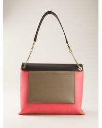Chloé Pink Clare Shoulder Bag