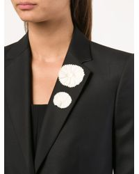 Ann Demeulemeester | Natural Set Of Two Flower Pins | Lyst