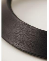 Rick Owens | Black Small Cone Cuff Bracelet | Lyst