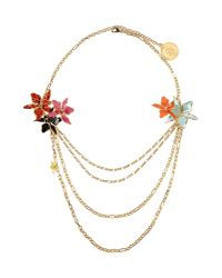 DSquared² - Red Necklace - Lyst