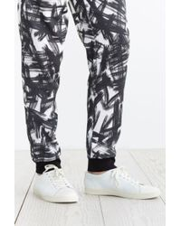 Urban Outfitters - Black Paint Brush Jogger Pant for Men - Lyst