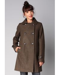 Sessun - Green Mid Coat - Lyst