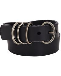 Werkstatt:münchen | Black Leather Wrap Bracelet for Men | Lyst