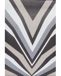Elena Ghisellini - Gray Liz Printed Pouch - Lyst