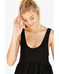 Truly Madly Deeply | Black Babydoll Tank Top | Lyst