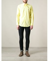 Polo Ralph Lauren Yellow Classic Shirt for men