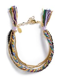 Shashi | 'maya' Bracelet - Purple | Lyst