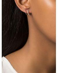 Maria Black | Metallic Klaxon Twirl Earrings | Lyst