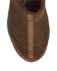 Easy Spirit | Brown Eztime Suede Mules | Lyst