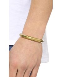 Giles & Brother Metallic Hex Cuff for men