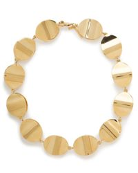 Lele Sadoughi | Metallic Castanets Collar Necklace | Lyst
