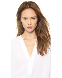 Jennifer Zeuner - Pink Lola Necklace - Rose Gold - Lyst
