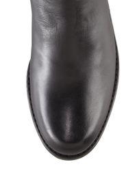 Stuart Weitzman 50/50 Leather Over-the-knee Boot Black