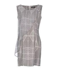 Guess - Black Short Dress - Lyst