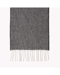 Tommy Hilfiger | Gray Wool Tailored Scarf for Men | Lyst