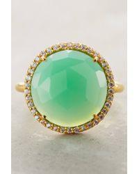 Indulgems | Green Rosaline Ring | Lyst