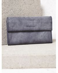 Free People - Blue Good Year Wallet - Lyst