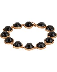 Irene Neuwirth Metallic Gemstone Bracelet