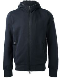 Moncler | Blue Sports Jacket for Men | Lyst