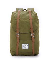 Herschel Supply Co. Green Retreat Backpack for men