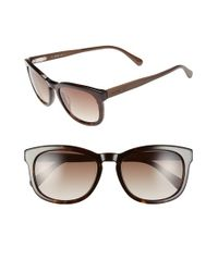 Jack Spade - Brown 'bryant' 52mm Retro Sunglasses for Men - Lyst