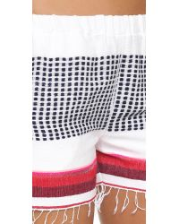 lemlem | Red Lula Shorts | Lyst