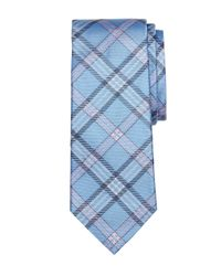 Brooks Brothers - Blue Tartan Tie for Men - Lyst