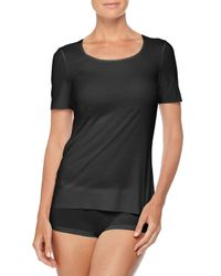 Wolford | Black Classic Jersey T-Shirt | Lyst