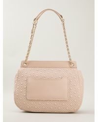 Tory Burch Pink Quilted Shoulder Bag