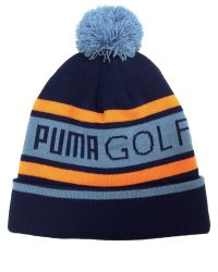 PUMA | Blue Pom Beanie for Men | Lyst