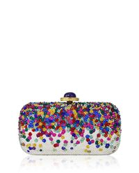 Judith Leiber - Multicolor Soap Dish Crystal Clutch Bag - Lyst