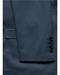 Lanvin - Blue Slim Fit Suit for Men - Lyst