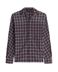DSquared² - Checked Cotton Shirt - Multicolor - Lyst