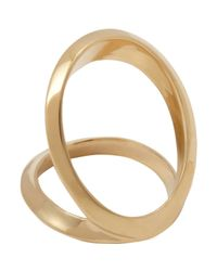 Maiyet | Metallic Double Open Arch Ring | Lyst