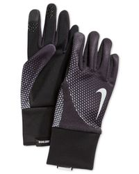 Nike Black Men's Element Thermal 2.0 Run Gloves for men