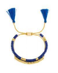 BaubleBar - Blue Abacus Bracelet - Lyst
